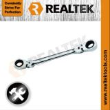Flexible Double Ring Gear Wrench