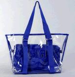 2017 New Summer Fashion Plastic Hand Bag Beach Bag (BDMC134)