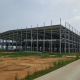 Commercial Design Metal Steel Structural Frame Warehouse Building Kit with Reasonable Price