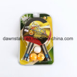 High Quality 3 Stars Table Tennis Rackets and Balls in Set