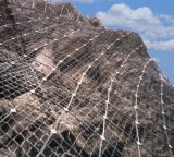 Slope Protection Stainless Steel Wire Rope Mesh/ Safety Netting System