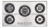 Electronic Lgnition Built-in Cast Iron Gas Hob Gas Cooker Jzs95205