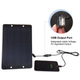 6W Solar Panel DC USB Portable Mobile Phone iPhone iPad Computer Battery Solar Charger Ce FCC