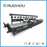 Automatic Plaid and Checks CNC Fabric Cutting Multi Layers Shirt Cutting Machine
