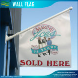 Double Sided Vinyl PVC House Wall Flag for Outdoor