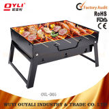 Portable Drawer Style Folding Table Barbecue Grill