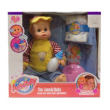 Lovely Vinyl 16 Inch Drinking Baby Doll (10250498)