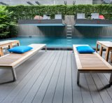 Direct Factory Resistance to Fire Co-Extruded Deck Flooring WPC Outdoor Decking