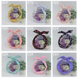 1PC Print Flower Bunny Rabbit Ear Ribbon Headwear Hair
