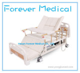 Electric Hospital Bed, Medical Metal Bed, Bed with Toilet