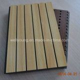 Fire Rated Perforated Wooden Veneer MGO Acoustic Panel