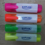 Office Stationery Supply Colorful Double Head Two Colors Highlighter Marker