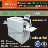 Full Automatic A3 A4 Paper Namecard Cutting Slitting Creasing Perforating Machine Multi Business Name Card Cutter