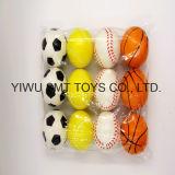 60mm Sport Series PU Stress Ball Anti Stress Ball Squeeze Ball