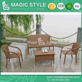 Rattan Sofa Set for Stackable Garden Sofa Set (Magic Style)