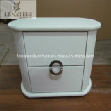T44 Antique Round Designs French Bedside Table