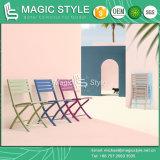 Outdoor Folding Chair Garden Aluminum Chair Patio Dining Chair Coffee Chair Hotel Rattan Furniture