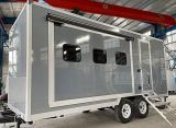 Teardrop Travel Luxury Expanding Portable Dressing up Trailer for Sale