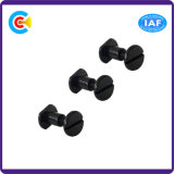 Carbon Steel Male and Female Flat Head Screws for Books/Calendars