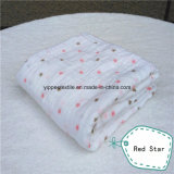 Soft&Smooth 70%Bamboo 30%Cotton Muslin Swaddle Blanket