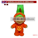 Halloween Gifts Pumpkin Vintage Troll Doll Novelty Party Gifts (H8127A)