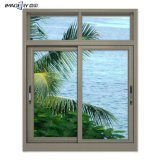 New Design Price Cheap Aluminum Double Glass Sliding Window