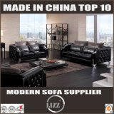 Italy Luxury Furniture Leather Sofa Couch 1+2+3