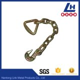 Grade 70 Chain with Clevis Grab Hooks