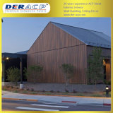 4mm/0.3mm Wooden Surface Aluminum Composite Acm Panel for Construction Wall Material