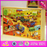 2016 Wholesale Baby Wooden 3D Jigsaw Puzzle Toys W14c246