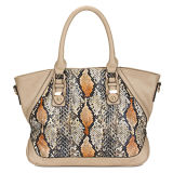 China Supplier Wholesale Faux Python Leather Handbags (MBLX033054)