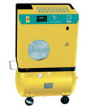 Moveable Screw Air Compressor with Air Receiver (7.5KW, 8bar)