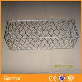 Hot Dipped Galvanized Hexagonal Gabion Box Wire Netting