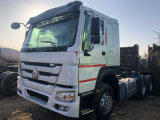 Chinese Popular Brand Good Quality 10 Wheels Euro III 371 HP 6X4 Used Tractor Truck for Sale Cheap