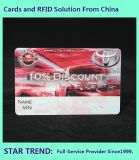 Fix Car Card Made From PVC with Magnetic Stripe Full Color