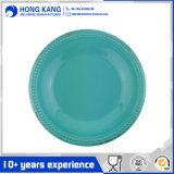 Eco-Friendly Round Rustic Vintage Melamine Plate