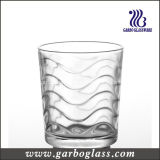 High Quality 8oz Waved Clear Water Glass Cup for Home Using (GB027809B)