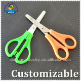 12.8cm Plastic Safety Scissors with Stainless Steel Blade