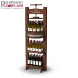 Creative Custom Floor Standing Wine Bottle Displays Rack
