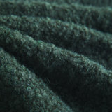 4.5nm Boucle Fancy Yarn with Alpaca Like, Wool, Nylon, Spandex and Acrylic Forest Color