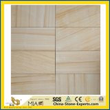 Natural Honed Yellow/White/Black/Red/Green/Blue/Beige/Grey/Brown/Multicolor Wooden Sandstone for Construction/Paving/Flooring/Wall/Countertop/Stair/Tile