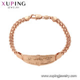 75482 Fashion 18K Gold Costume Jewelry Women Bracelet with Stone