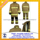 4 Layers High Quality Fire Fighting Suit / Fireman's Uniform