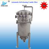 Automatic Self-Washing Stainless Steel Candle Filter, Self-Cleaning Filter, Diatomite Earth Beer Filter