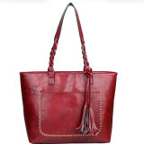 Competitive Price Lady Single Shoulder Handbag Shopping Bag Women PU Bag