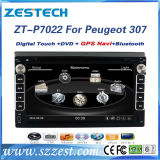 Double DIN Car DVD GPS for Peugeot 307 with Bluetooth Radio