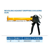 9inch Revolving Against Dripping Caulking Gun (WW-SC052-A)