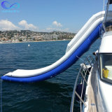 Outdoor Water Floating Boat Slide Inflatable Yacht Free Fall Slide Inflatable Yacht Water Slides