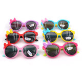 OEM Fashion Lovely Bow Apple Color Children Sunglasses