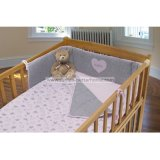 Custom 100% Cotton Baby Bedding Set with Crib Bumper